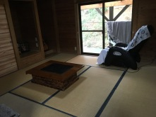 Guesthouse Japanese style room w/ massage chair (I used it)