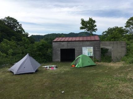 Katsuraike Tent Site