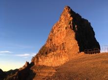 Dabajianshan - golden, four minutes after sunrise