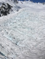 Close-ups of the glacier