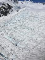 Close-ups of the glacier