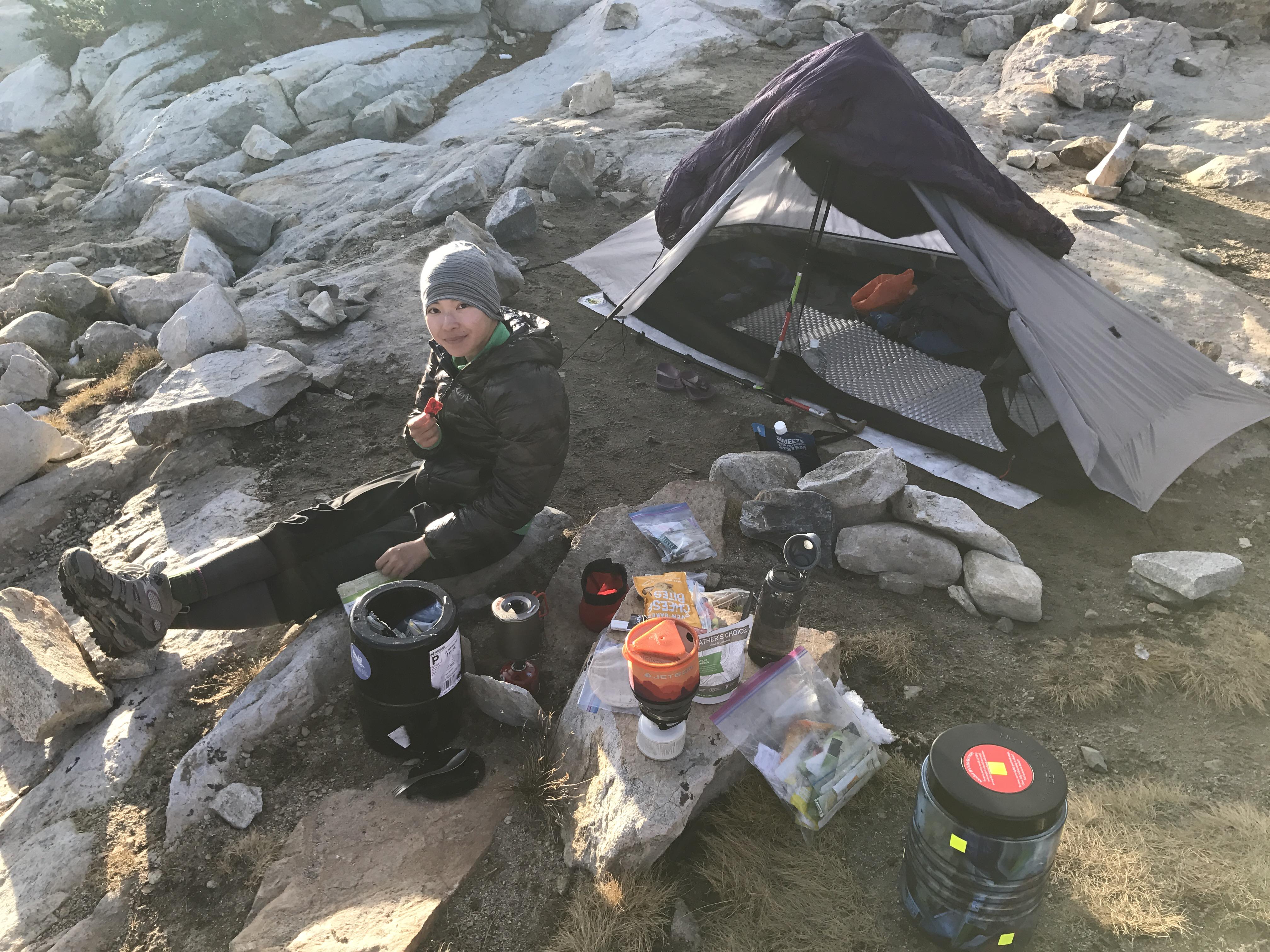 JMT campsite 2017